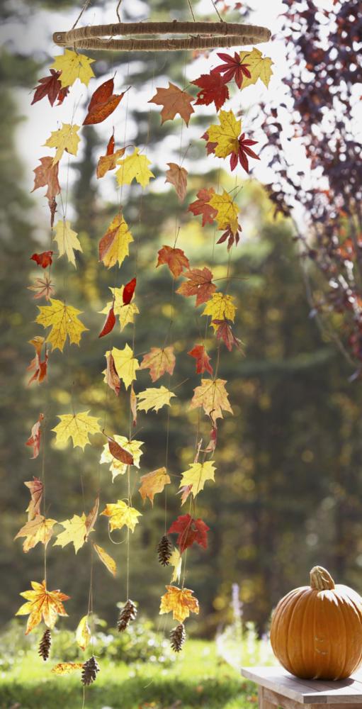DIY Fall Decor Leaves