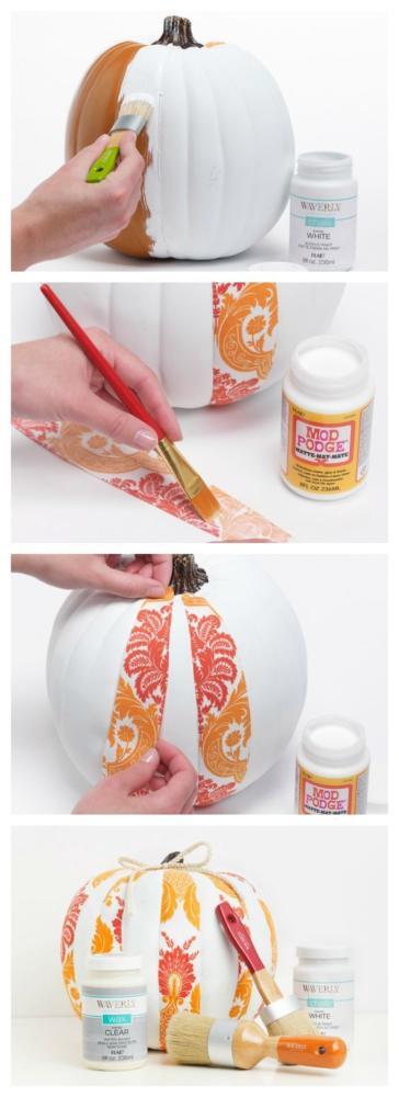 DIY Fall Decor Pumpkin