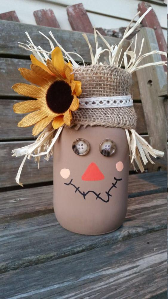 Fall Crafts Scarecrow