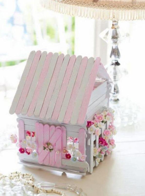 Popsicle Stick House Seaside