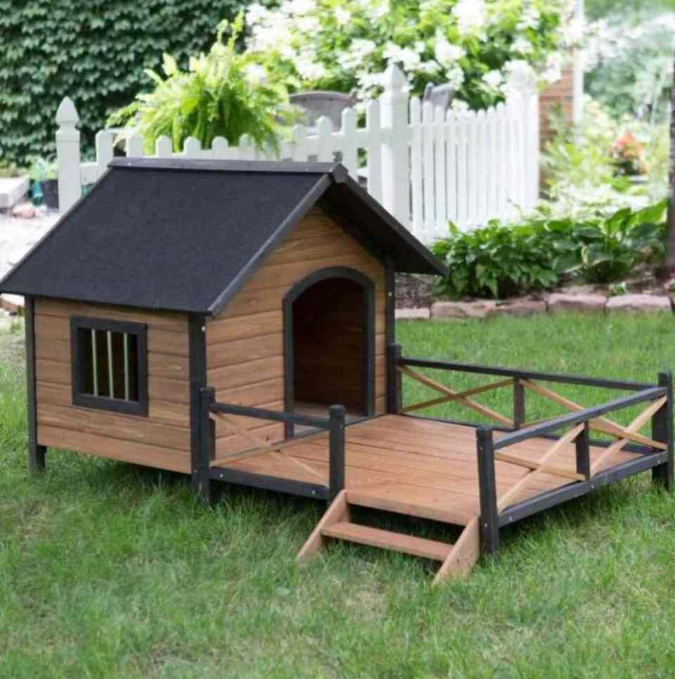 Crafts for Dogs Wooden House