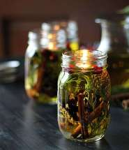 Crafts for Mason Jars Oil Lamp