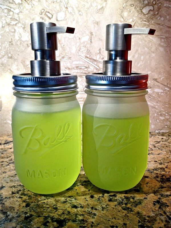Crafts for Mason Jars Soap Dispenser