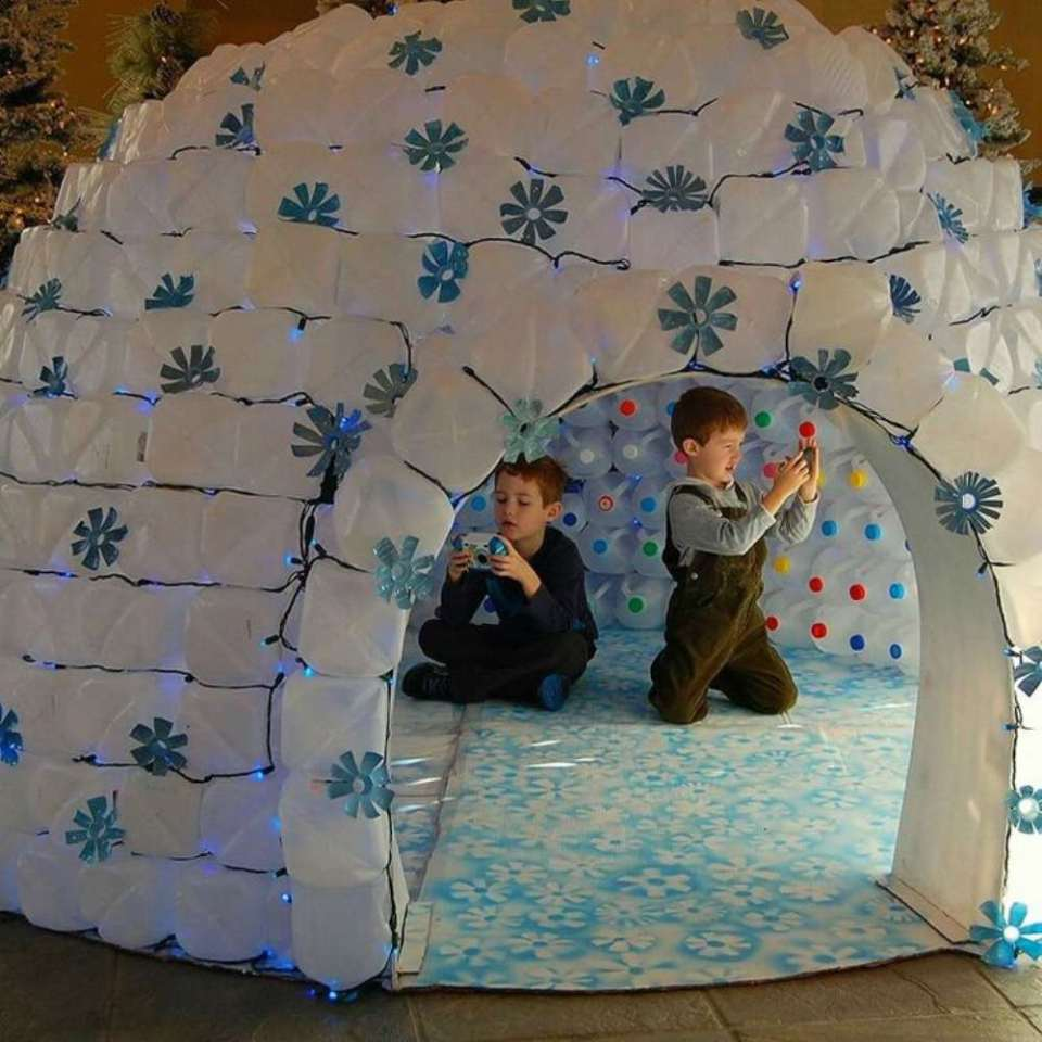 Crafts for Winter Igloo House