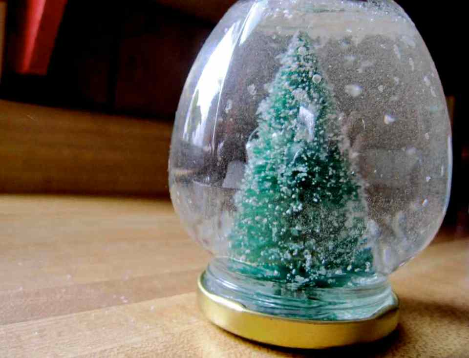 Crafts for Winter Snowglobe