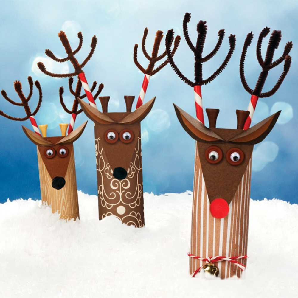Crafts for Winter Paper Reindeer
