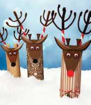 Crafts for Winter Paper Reindeer