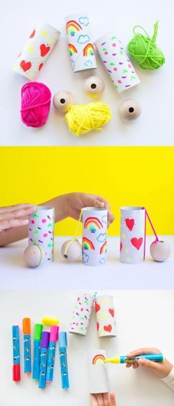 craft using paper towel rolls