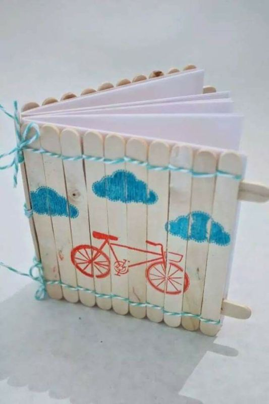 Popsicle Stick Crafts Book Cover