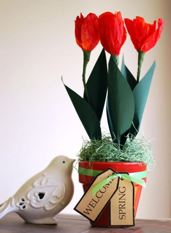 crafts with cone coffee filters