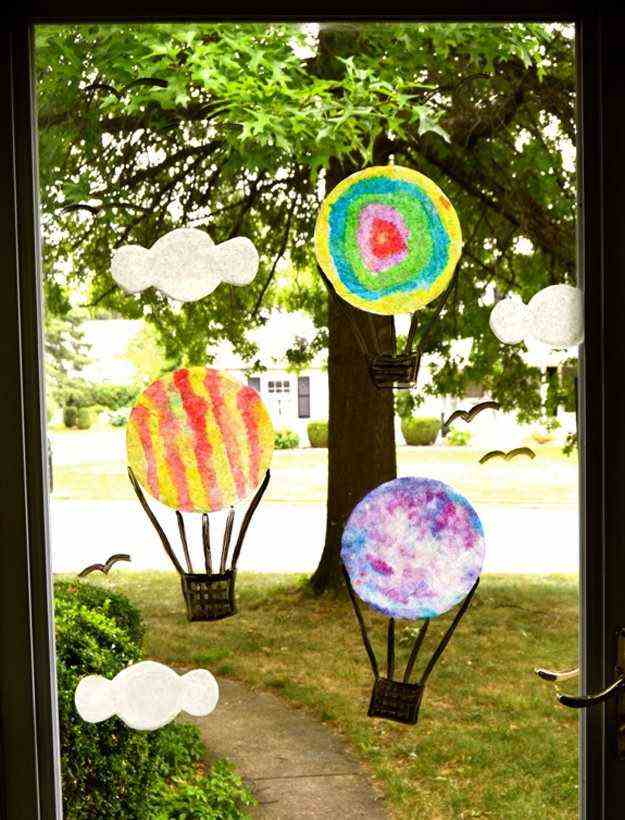 spring crafts with coffee filters