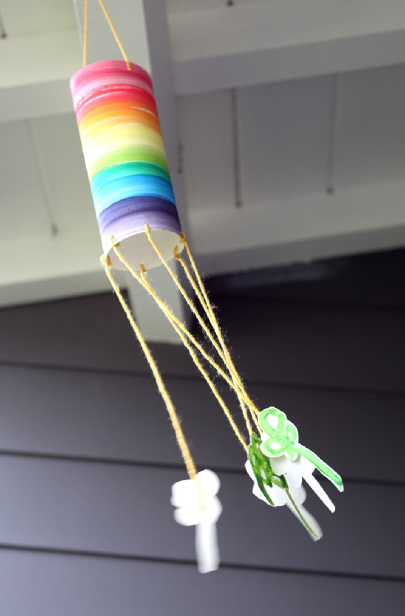 family crafts for kindergarten