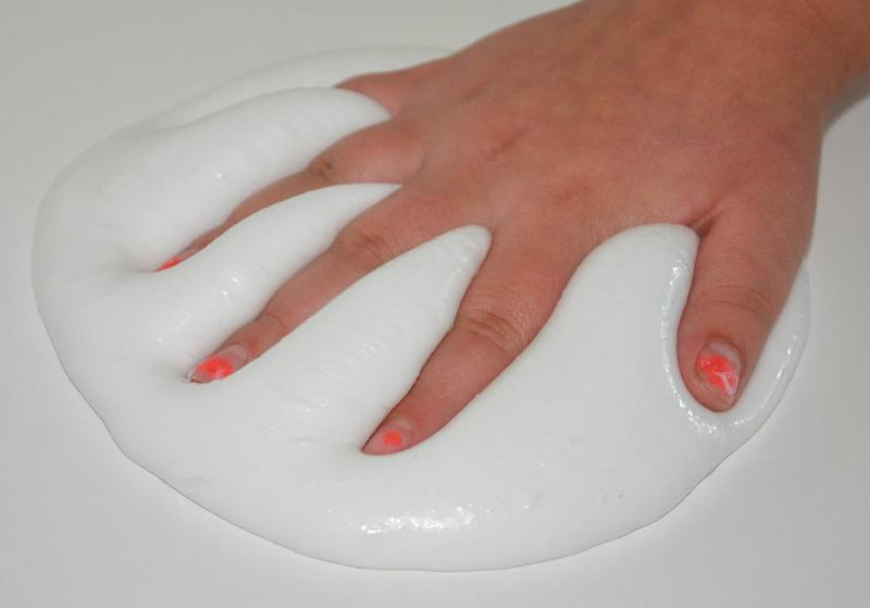 how to make slime glossy