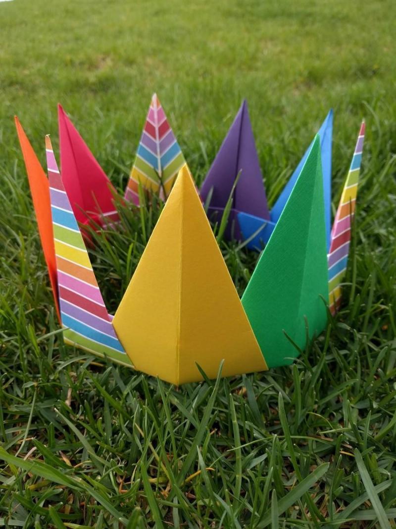 a origami box