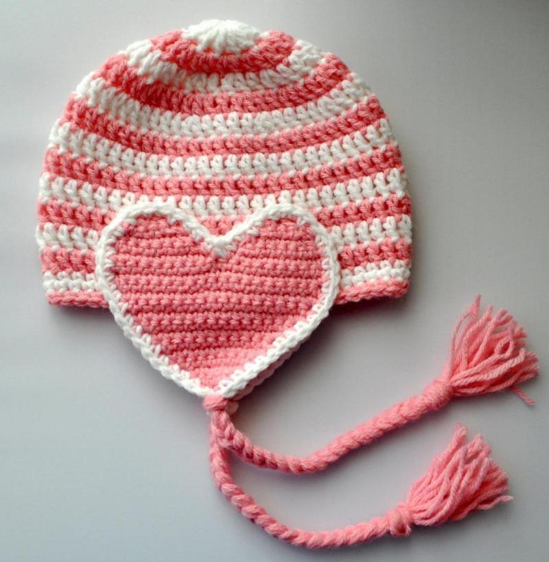 crochet a heart pattern blanket