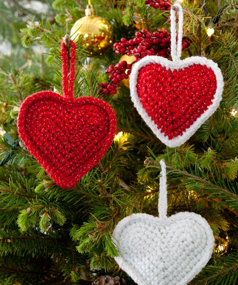 crochet heart pattern uk terms