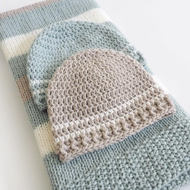 crochet baby hat and beard