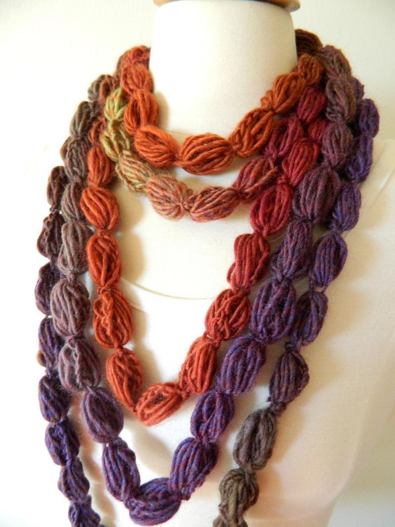 crochet beaded necklace pattern