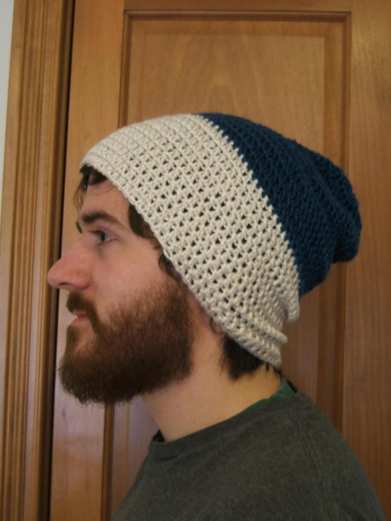 mens crochet earflap hat pattern
