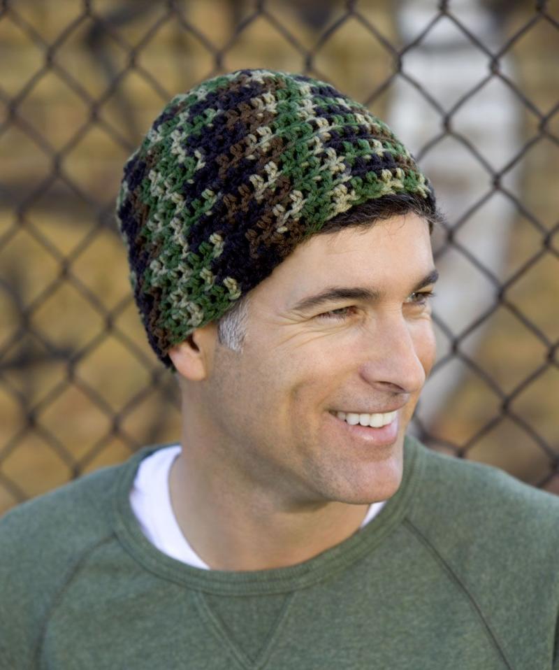 mens crochet hat pattern youtube