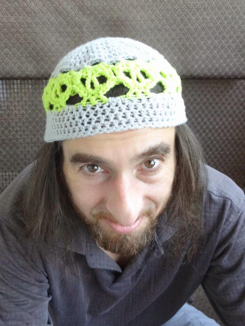 free easy crochet men's hat pattern
