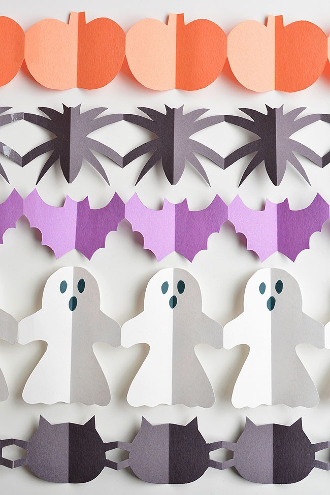 paper garland doves