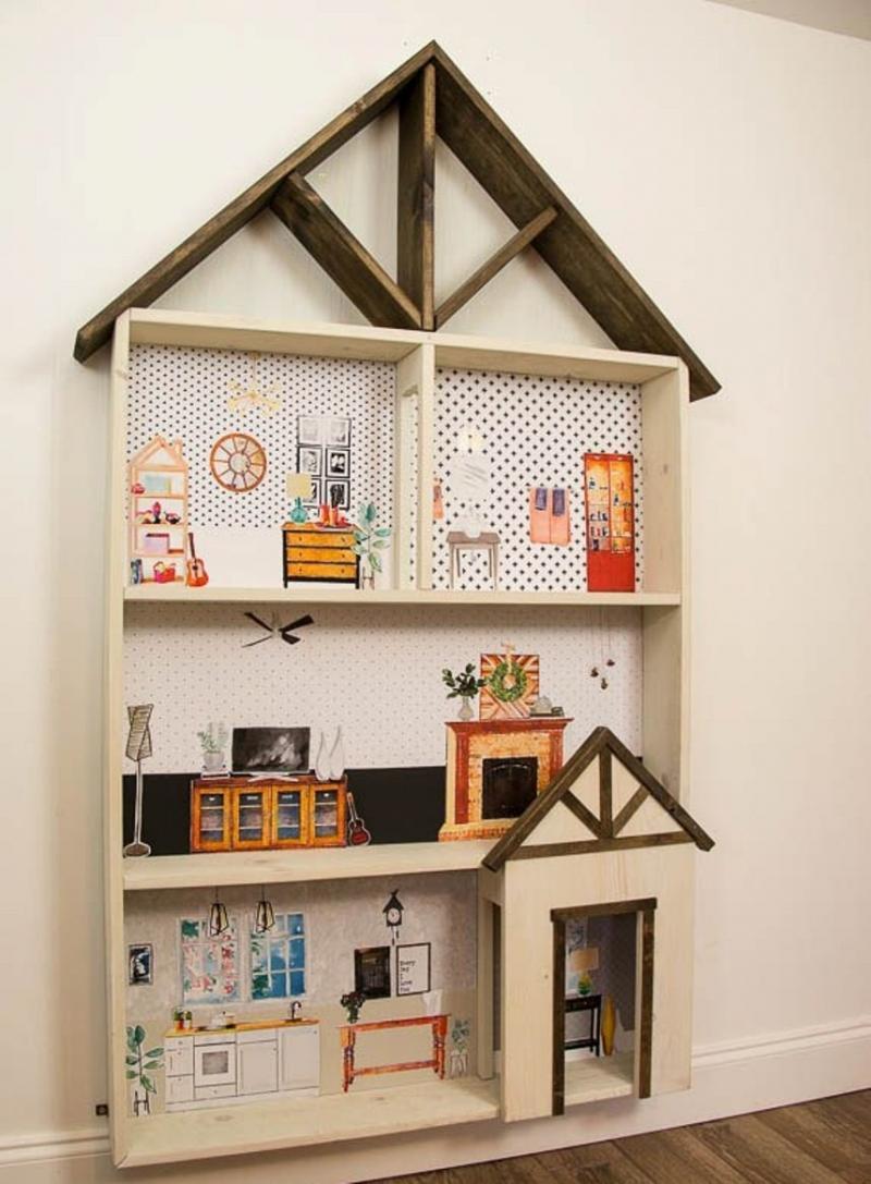 best diy dollhouse plans