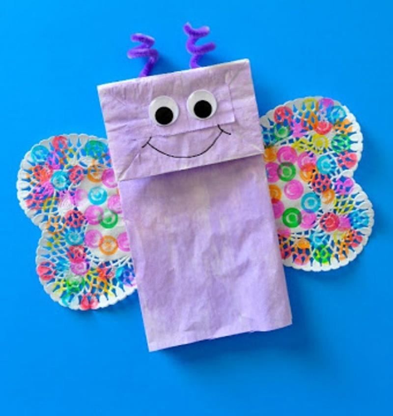 3d butterfly crafts