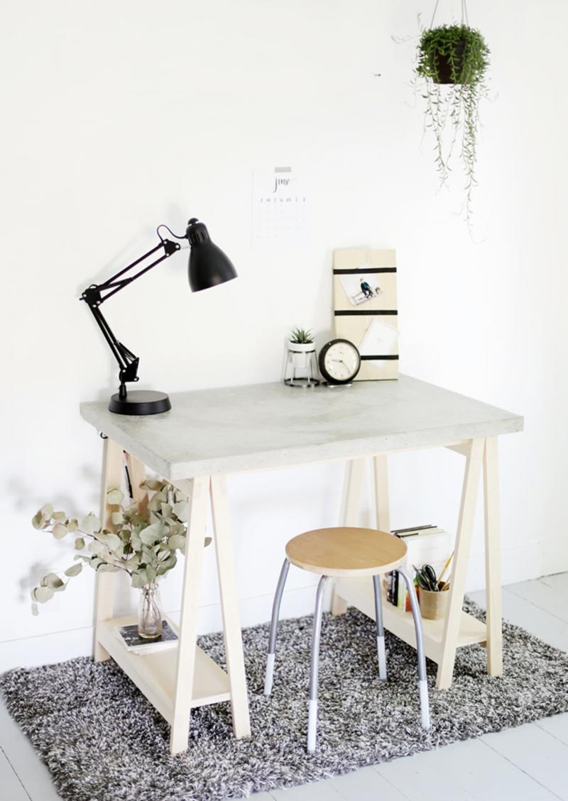diy desk ideas for small spaces