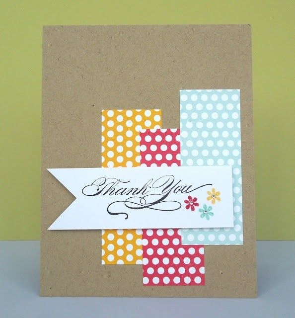 diy business thank you cards