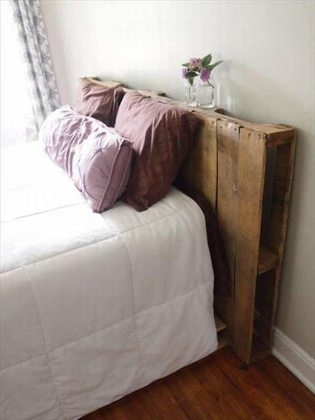 diy wood headboard full size