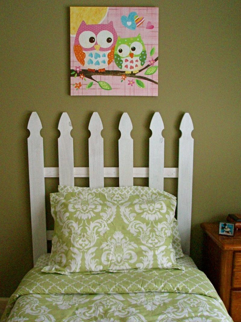 diy wood headboard ana white