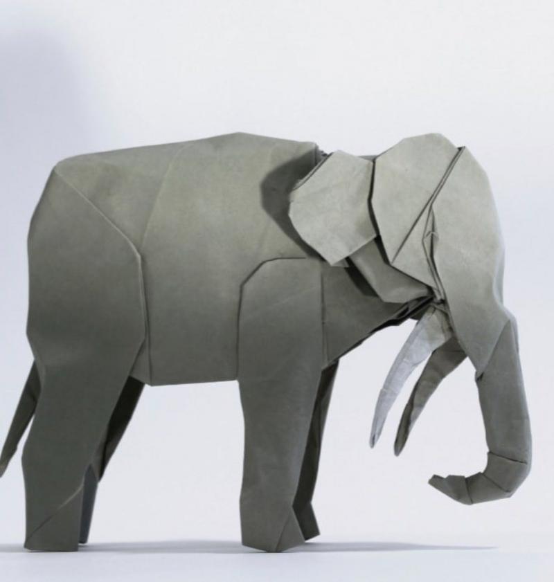 origami owl elephant charm