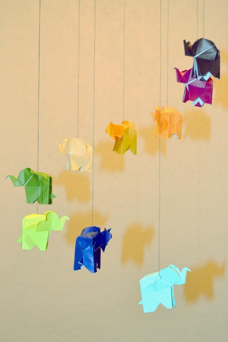 origami elephant step by step instructions