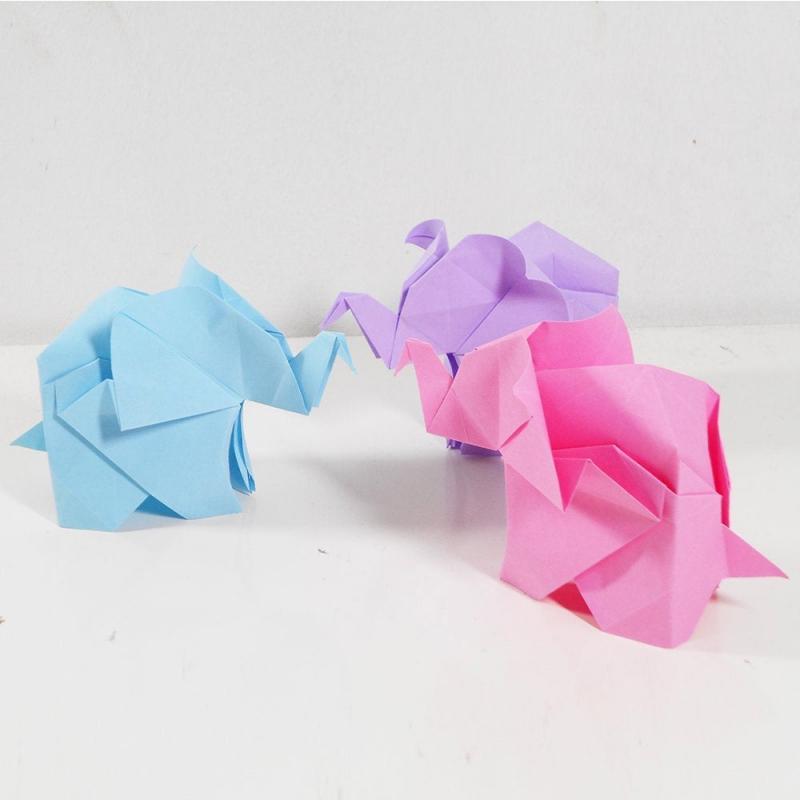 origami elephant gift