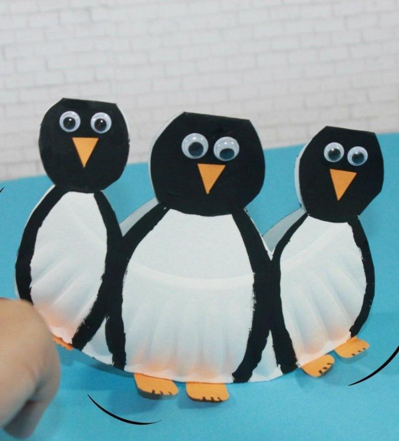 penguin crafts pinterest