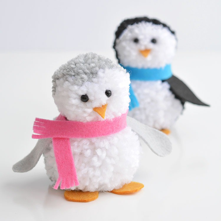 penguin craft projects