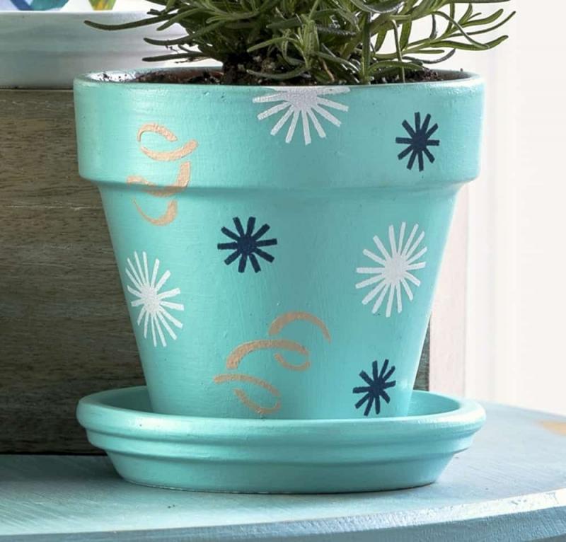 diy flower pot gifts