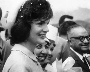 Jackie Kennedy in Venezuela — PUBLIC DOMAIN