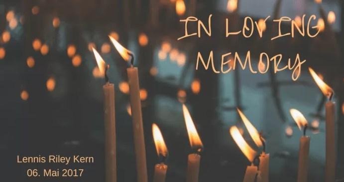 Erinnerung an Sternenkind Lennis
