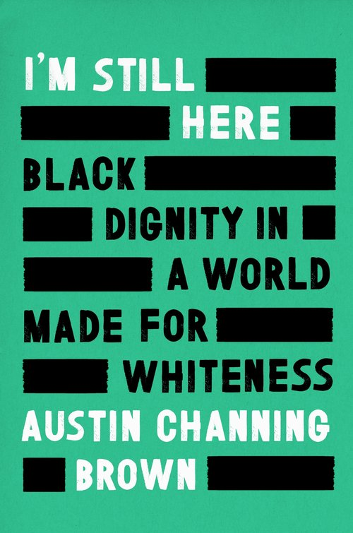 Cover of I'm Still Here book in black, green and white