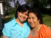Happy - To have my mother alive, healthy, & happy