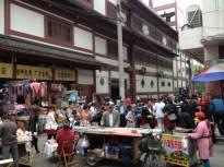 Alley vendors
