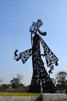 Sheshan Sculpture Park in Shanghai China. A wonderful park in an out of the way fabulous location off of metro line 9.