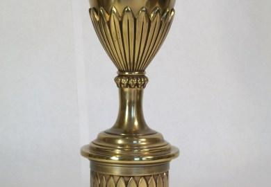 Vintage Stiffel Brass Table Lamps