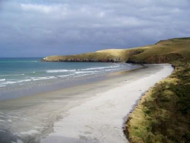 A Sandy New Zealand Coastline