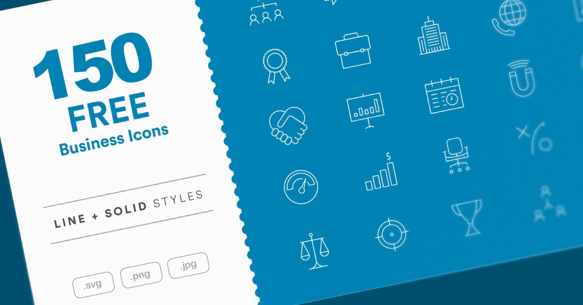 Free 150 Business Icons