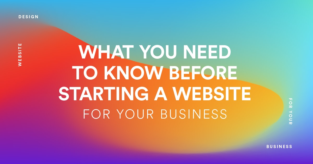 Infographics: 10 Things Before Starting a Website