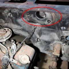 69 Firebird Wiring Diagram Dodge Ram Radio 1998 Recessed Wiper Motor Plate (78 Camaro) | Nastyz28.com