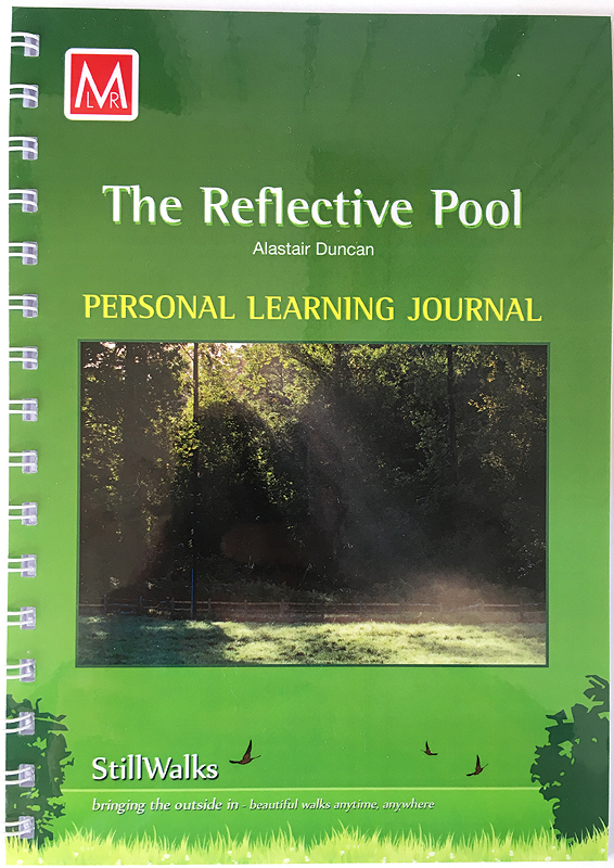 StillWalks Reflective Pool Personal Learning Journal Cover